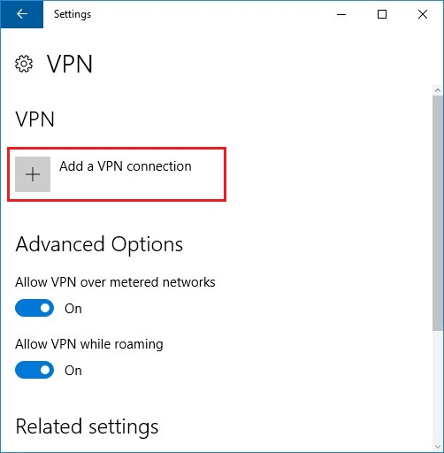 Setup and configure L2TP/IPSec-PSK VPN on Windows 10