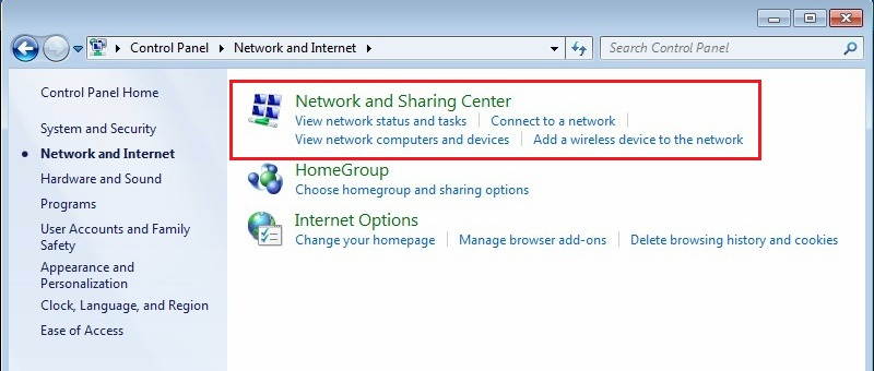 Configure VPN PPTP in Windows 7. Step 3.