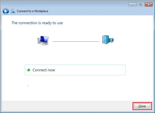 Configure VPN PPTP in Windows 7. Step 9.