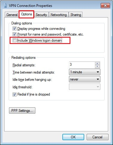 Configure VPN PPTP in Windows 7. Step 13.